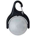 Nite Ize MoonLit LED Micro Lantern with Carabiner Clip - Swivel Design - White LED - Includes 2 x CR2032s (MLTML-10-R6)