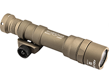 SureFire M600DF-TN Scout High Output LED Weapon Light - 1500 Lumens - Uses 2 x CR123A or 1 x 18650 - Tan