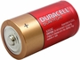 Angle Shot of the Duracell Quantum QU1400 C Battery