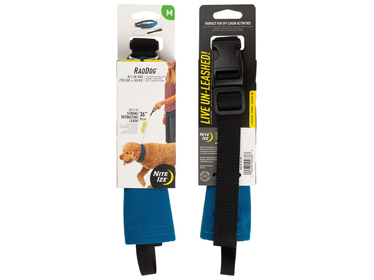 RadDog All-In-One Collar and Leash - Packaging
