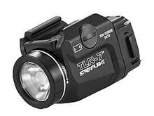 Streamlight 69420 TLR-7 Full-size and Compact LED Pistol Light - Rail Locating Keys - 500 Lumens - Includes 1 x CR123A - Box Packaging