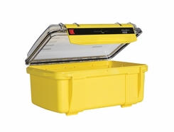 Underwater Kinetics Weatherproof 408 UltraBox - Clear View/Lid Pouch/Padded Liner/Yellow (08661)