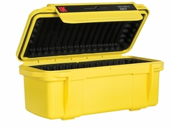 Underwater Kinetics Weatherproof 307 UltraBox - Clear View/Lid Pouch/Padded Liner/Yellow (08461)