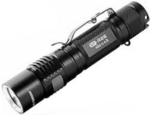 JETBeam SF-R25 USB Rechargeable Flashlight - CREE XP-L LED - 1080 Lumens - Uses 1 x 18650 or 2 x CR123A