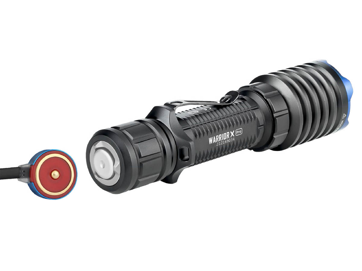 Olight Warrior X Pro Magnetic Tailcap for MCC3 Charger