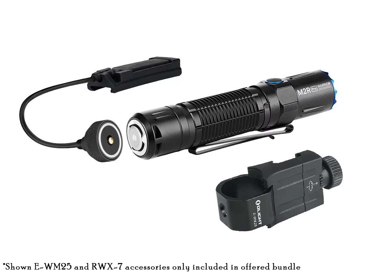 Olight M2R Pro Flashlight Bundle