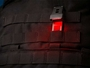 quiqlite qx2 in tactical vest with red LED