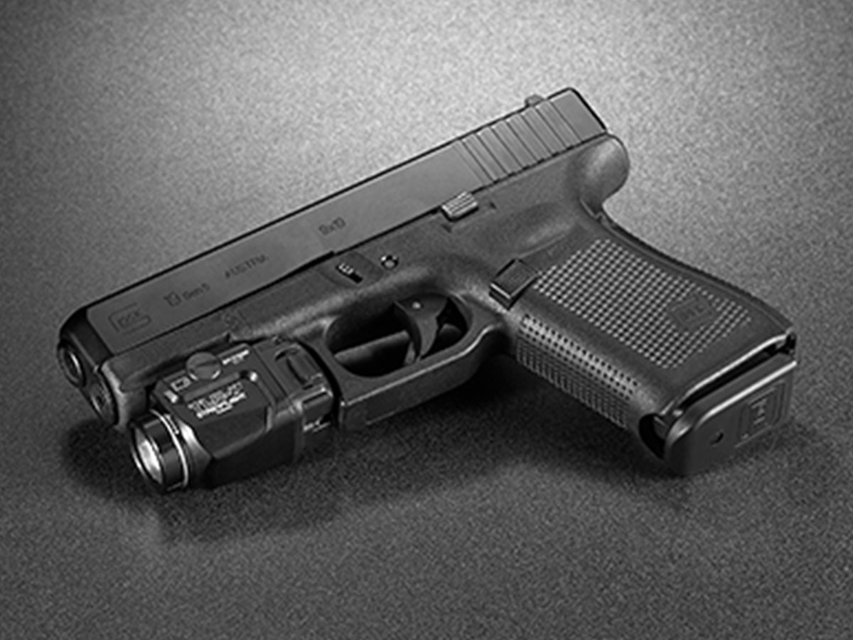 streamlight tlr-7 mounted on handgun