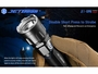 jetbeam jet iiimr flashlight manufacturer slide about instant strobe access thru side switch