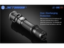 jetbeam jet iiimr flashlight manufacturer slide about over discharging protection by stepping down lumens when low power