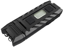 Nitecore THUMB-UV USB Rechargeable Ultraviolet Worklight -  365 nm - Uses Lithium Ion (Li-Ion) Battery Pack