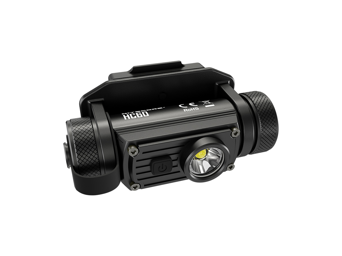 HC60M FACING FORWARD TILTED TO THE RIGHT TO SHOW ANGLED VIEW