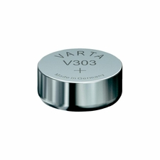 Varta 303 160mAh 1.55V Electronic Silver Oxide Coin Cell Battery (V303) - Pill Box (V20303101111) (Mercury Free)