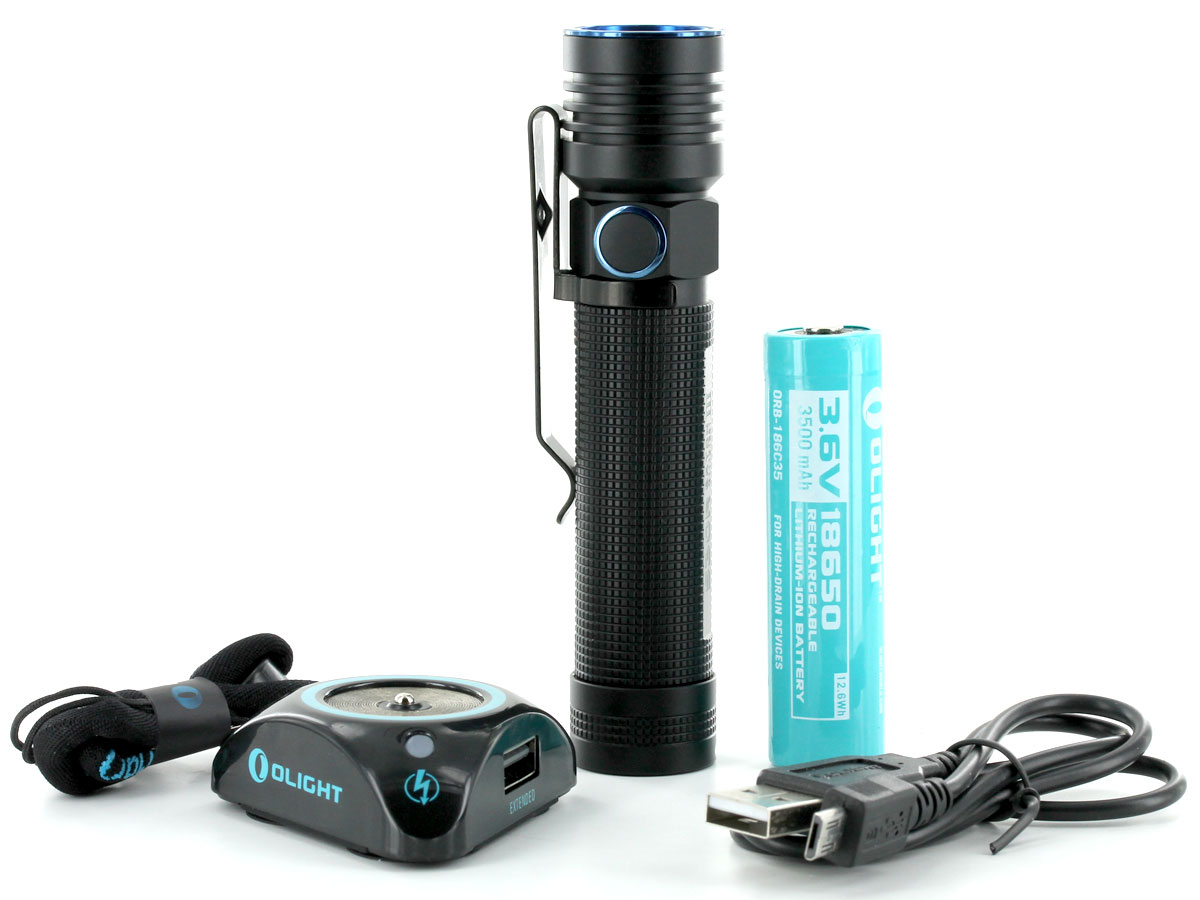 Everything that Comes with the Olight S30R III
