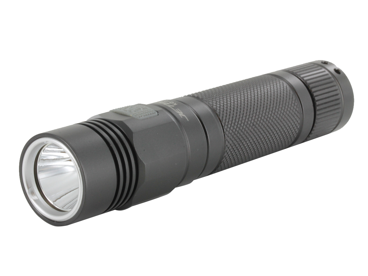 JETBeam KO-01 flashlight left side angle