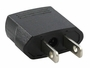 Plug of the SevenStar MF7 Flat Pin U.S.A. Plug Adapter