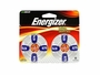 Energizer AZ675 Zinc Air Blue hearing aid batteries in 8 count blister pack