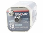 Top of the Rayovac 808 F Cell 6V Alkaline Lantern Battery