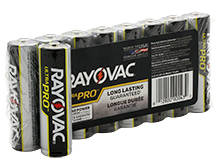 Rayovac Ultra Pro AL-AA 1.5V Alkaline Button Top Batteries - 8 Pack Shrink Wrap (ALAA-8J)