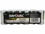 Package Shot of the 6-Pack Shrink Wrap of Rayovac C Ultra Pro Batteries