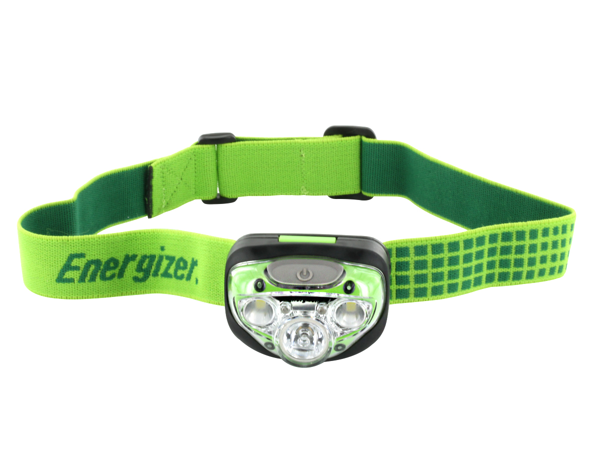 Energizer Vision HD+ Headlamp front view with headband