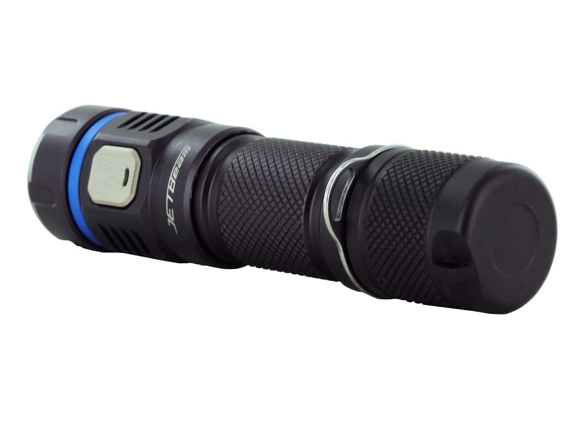 JETBeam E40R LED Flashlight Tailcap