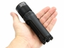 Battery and Runtime Slide of the Nitecore SRT9 Tactical Flashlight