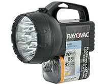 Rayovac Value Bright 6V Floating Lantern Search Light - 10 x LEDs - 85 Lumens - Includes 1 x 6V Alkaline Battery