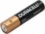Duracell Coppertop AAA battery side angle