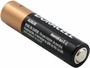 Duracell Coppertop AAA battery back side angle