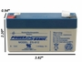 Power-Sonic PS-612 Rechargeable Sealed Lead Acid (SLA) Battery alternate view 5