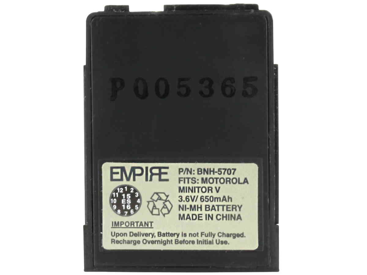 Empire BNH-5707 battery upright front view