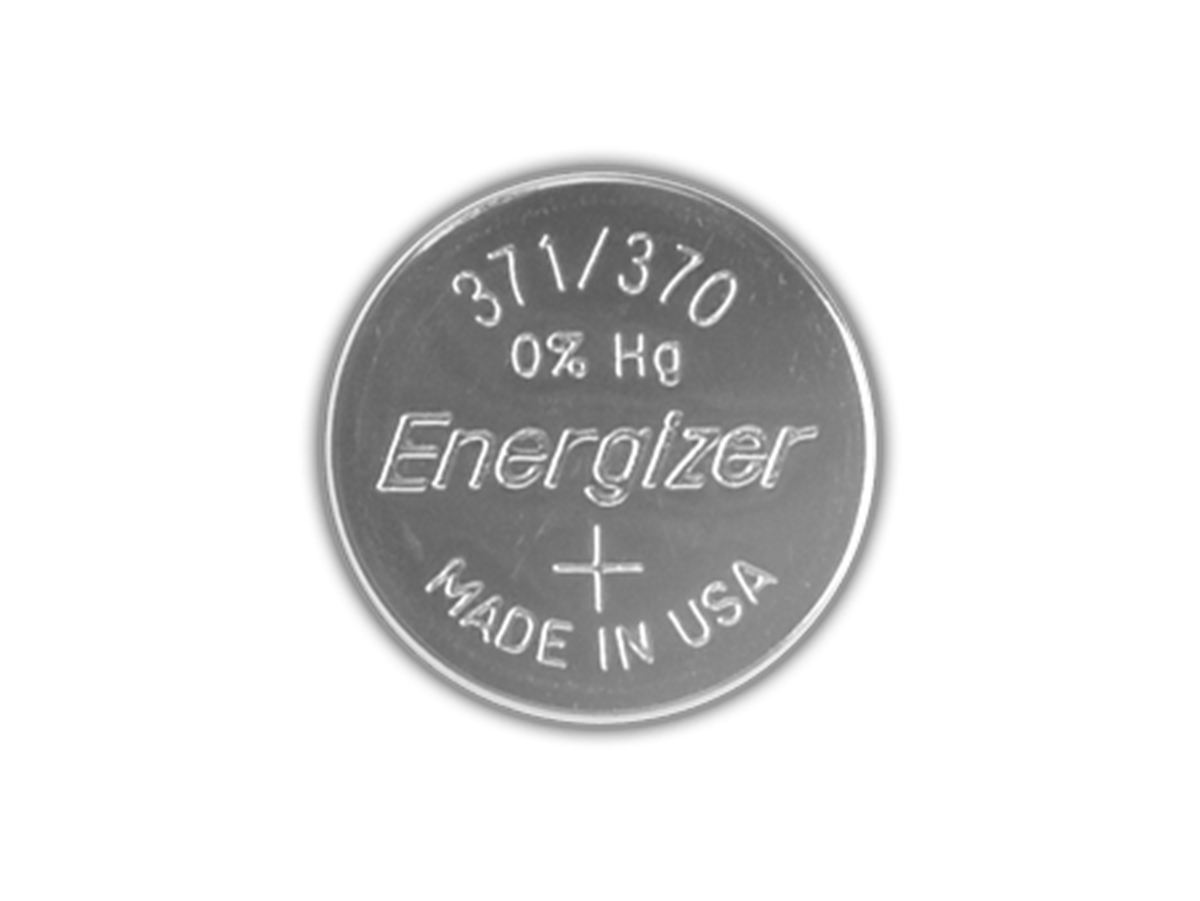 Energizer SR920SW coin cell front view