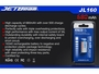 Slide two for JETBeam JL160 RCR123A battery