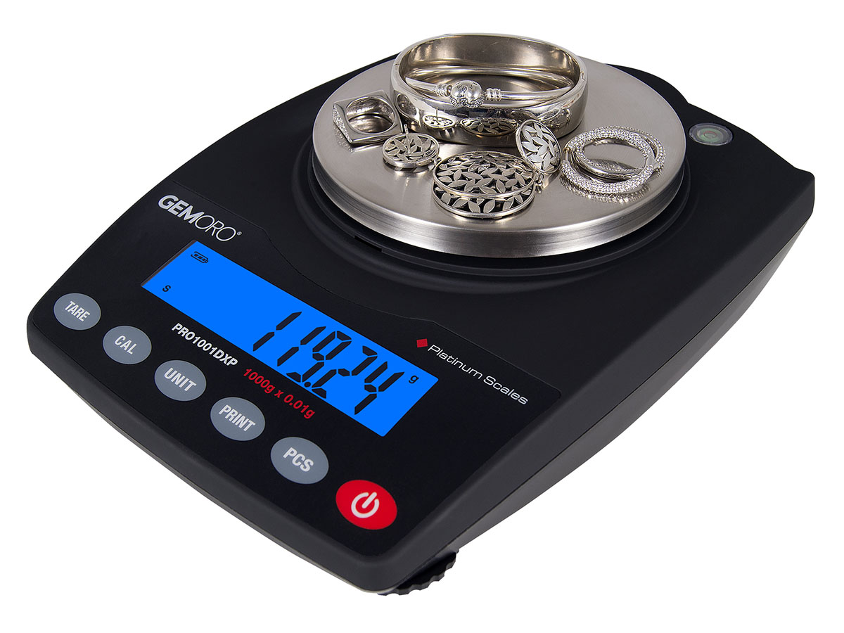 GemOro PRO1001DXP Extra-Precision Scale right angle