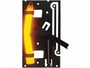 Cyalume ChemLight Surface Trip Flare with Orange-Hi 5 minute light stick front view