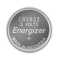 Energizer ECR1632 (800PK) 130mAh 3V Lithium Primary (LiMNO2) Coin Cell Batteries - Case of 800
