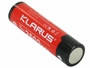 Klarus 18650 battery right side angle