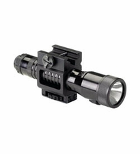 Streamlight Tactical Strion 74202 Rechargeable LED Flashlight with Weapon Mount, 120V AC/DC Charger and 1 x Holder - Fits Picatinny Railed Long Guns - 85 Lumens - Includes Li-ion Battery Pack