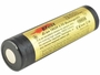 Efest 3562 18650 unprotected flat top battery side angle