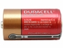 Side Shot of the Duracell Quantum QU1400 C Battery