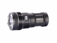 Nitecore TM11 Tiny Monster LED Flashlight with 2000 Lumen Triple CREE XM-L T5 (Neutral White) LED Output - Uses 4x18650