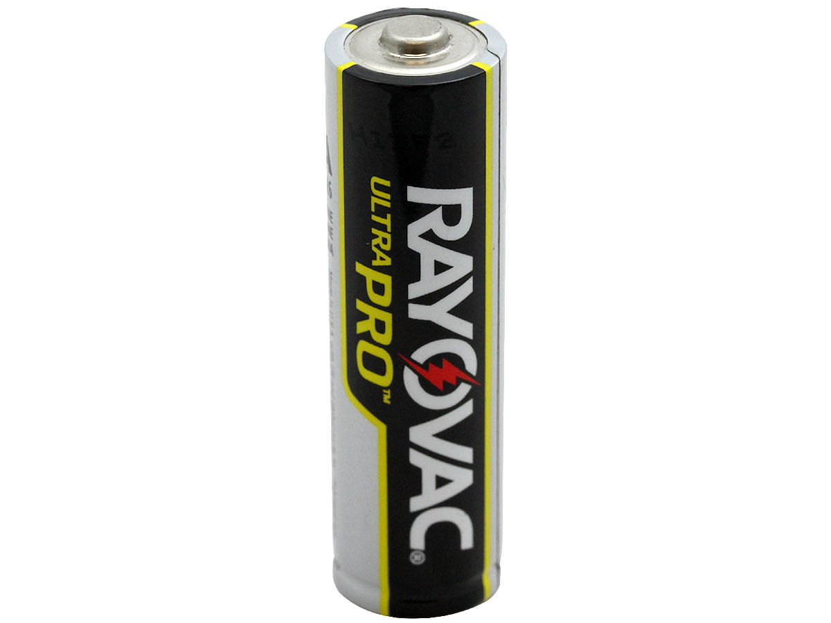 Standing Shot of the Rayovac Ultra Pro AL-AA