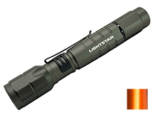 TerraLUX/LightStar LS-325 LED Flashlight - 325 Lumens - Includes 2 x AA - Available in Grey or Orange