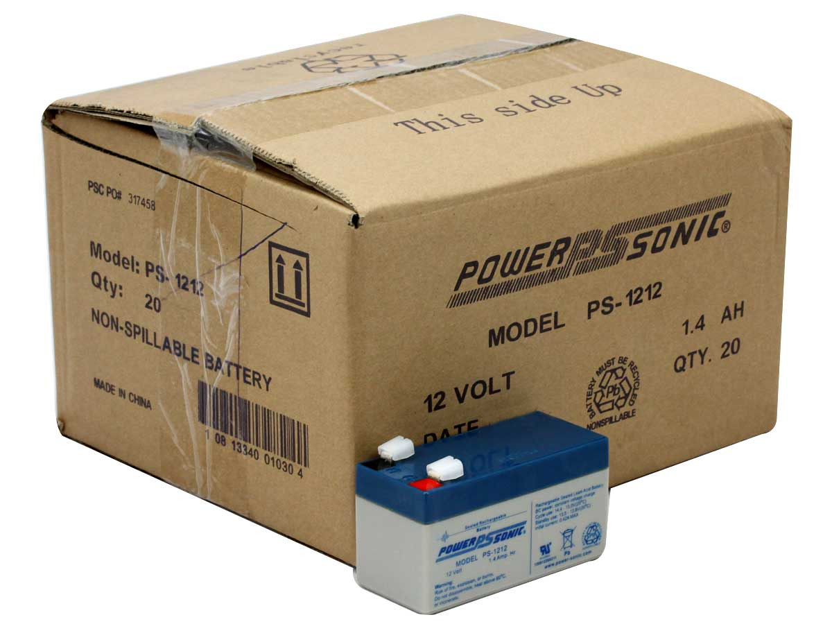 Battery With Packaging