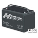 Power-Sonic AGM High Rate PHR-12400 110Ah 12V Rechargeable Sealed Lead Acid (SLA) Battery - T8 Terminal