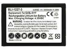 Empire BLI-1227-3 3000mAh 3.8V Lithium Ion (Li-ion) LG G4 Battery Replacement
