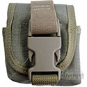 Maxpedition Single Frag Grenade Pouch - Khaki (1435)