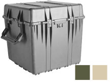 Pelican 0370 Protector Cube Case - Black, OD Green, or Desert Tan - Available With or Without Foam