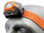 Close Up Angle Shot of the Inova STS Headlamp - Orange Version